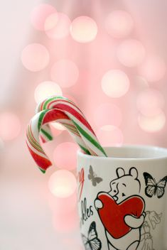 Christmas candies in cup closeup - Free image #182593