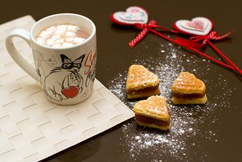Breakfast in Valentine's Day - image #182673 gratis