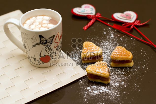 Breakfast in Valentine's Day - Free image #182673