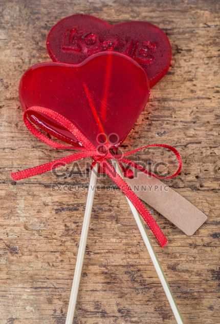 Heart shaped candies - Free image #183023