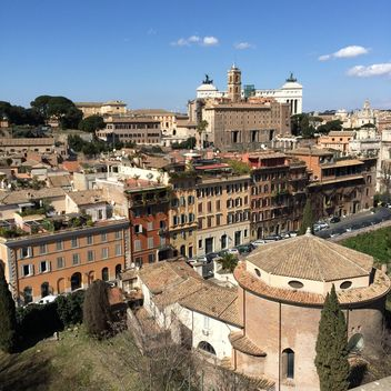 View on architecture of Rome - image #183103 gratis