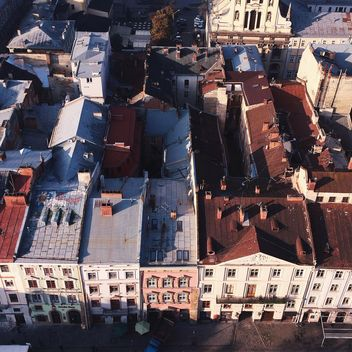 Roofs of houses in the city - Kostenloses image #183693