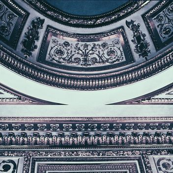 The ceiling in the Castle in Warsaw - бесплатный image #183753