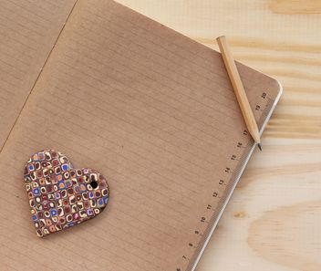 Heart on the notebook - Free image #183983