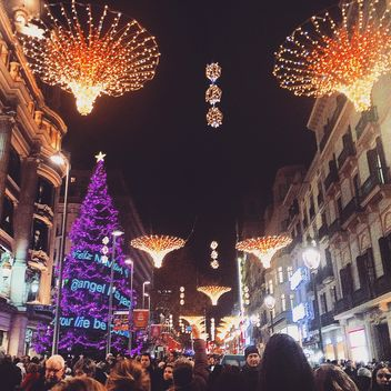 Christmas in Barcelona - Free image #184323