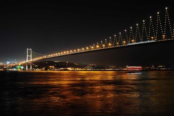 bosphorus bridge in istanbul - бесплатный image #185893