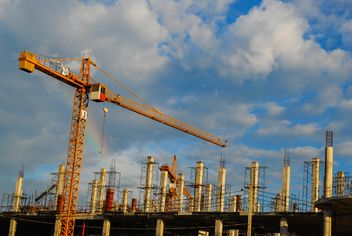 Constructions in city life - Free image #186413