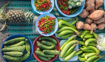 Vegetables on a table - Kostenloses image #186423