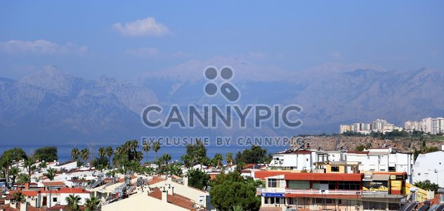 View on mountains and architecture of Antalya - image gratuit #186713