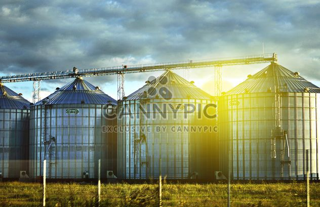 View of factory in sunlight - Free image #186723