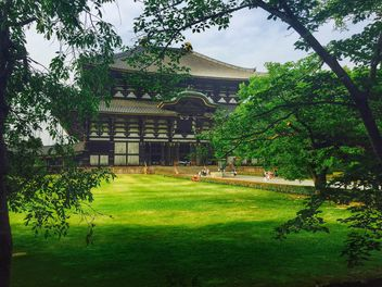 Todai-ji Temple in Nara - бесплатный image #186863