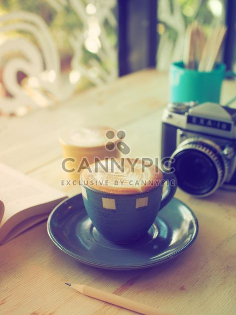 Coffee latte art - Free image #186983