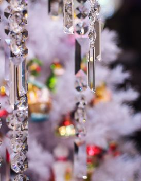 Close-up of Christmas tree with decorations - image gratuit #187333