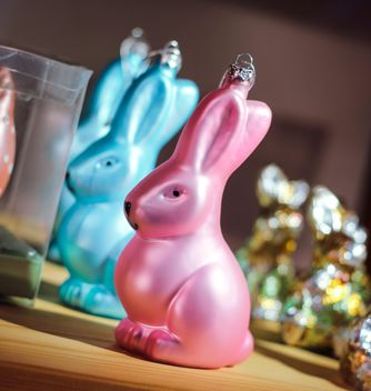 easter decorative colorful bunny - бесплатный image #187483