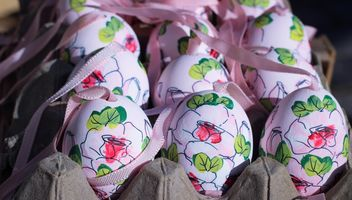 beautiful easter eggs - image gratuit #187493