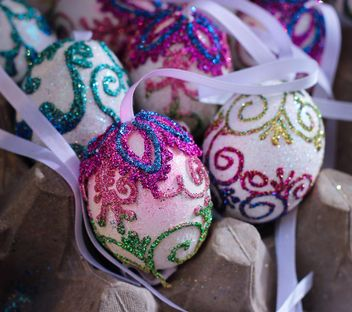 Decorative Easter eggs - image #187533 gratis