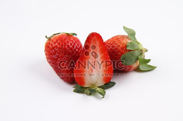 Strawberries isolated - Kostenloses image #187813