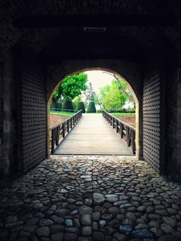 View through a gate at Kalemegdan - Free image #187913