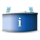Info Desk - icon gratuit #188853