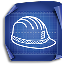 Engineer Helmet - Kostenloses icon #189293
