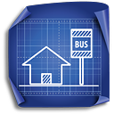 Bus Stop - icon #189313 gratis