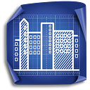City Area - icon gratuit #189373