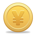 Yen Coin - icon #189813 gratis