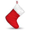 Christmas Stocking - Free icon #190243