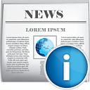 News Info - icon gratuit #190403