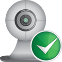 Webcam Accept - icon gratuit #190553