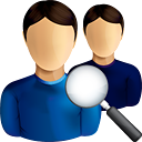 Users Search - icon #190583 gratis