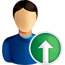 User Up - icon gratuit #190593