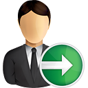 Business User Next - icon gratuit #191023