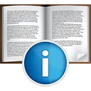Book Info - icon gratuit #191053