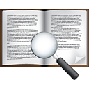 Book Search - icon gratuit #191063