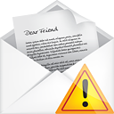 Mail Open Warning - icon gratuit #191183