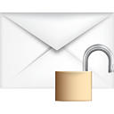 Mail Unlock - icon gratuit #191193