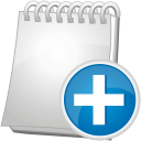 Note Add - icon #192403 gratis