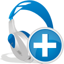 Wireless Headset Add - icon #192443 gratis