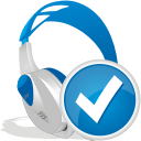 Wireless Headset Accept - icon gratuit #192483