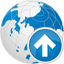 Globe Up - icon gratuit #192523