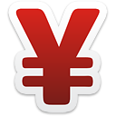 Yen Currency Sign - Kostenloses icon #192923