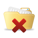Delete Open Folder - icon gratuit #193053