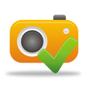 Photo Camera Accept - icon gratuit #194623