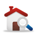 Search Home - icon gratuit #194843