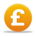Sterling Pound Currency Sign - Kostenloses icon #194873