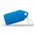 Tag Blue - icon gratuit #194963