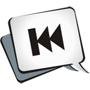 Skip Backwards - Kostenloses icon #195143