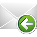 Mail Previous - icon gratuit #195473
