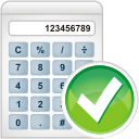 Calculator Accept - icon #196243 gratis